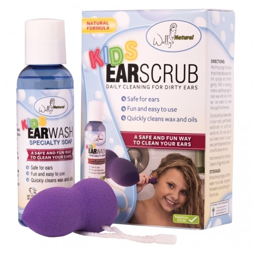 Image of Kid's Ear Wash plus Ear Scrub