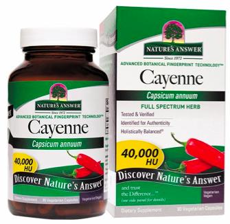 Image of Cayenne 40,000 HU Capsule