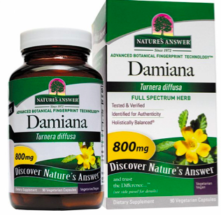 Image of Damiana 400 mg Capsule