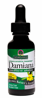 Image of Damiana Liquid Alcohol Free