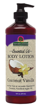 Image of Essential Oil Body Lotion Coconut Vanilla