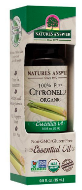 Image of Essential Oil Citronella Organic