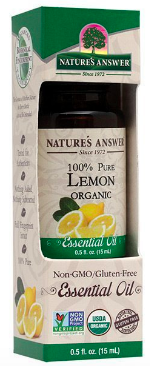 Image of Essential Oil Lemon Organic
