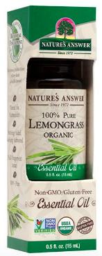 Image of Essential Oil Lemongrass Organic