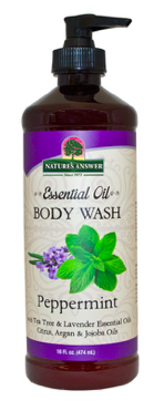 Image of Essential Oil Body Wash Peppermint