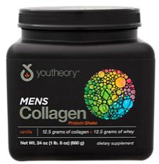 Image of Mens Collagen Protein Shake Powder Vanilla