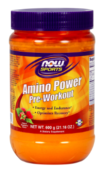 Image of Amino Power Pre-Workout Powder Raspberry