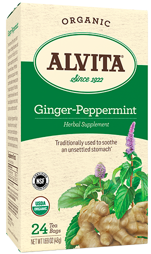 Image of Ginger-Peppermint Tea Organic
