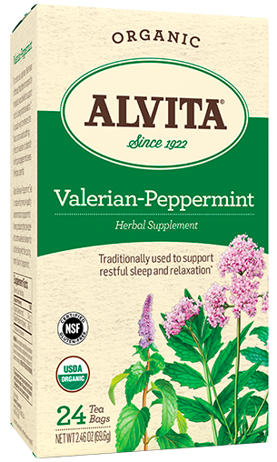 Image of Valerian-Peppermint Tea Organic