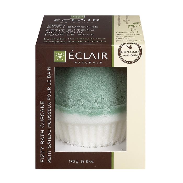 Image of Fizzy Bath Cupcake – Eucalyptus, Rosemary, & Mint