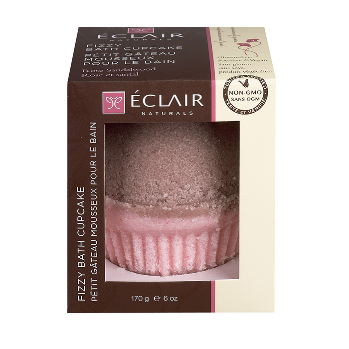 Image of Fizzy Bath Cupcake – Rose Sandalwood