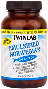 Image of Emulsified Norwegian Cod Liver Oil Softgel