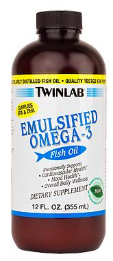 Image of Emulsified Omega-3 Fish Oil Liquid Mint