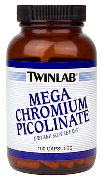 Image of Mega Chromium Picolinate 500 mcg
