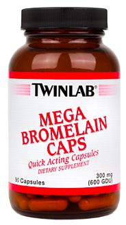 Image of Mega Bromelain Caps 300 mg (600 GDU)