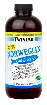 Image of Norwegian Cod Liver Oil Liquid Mint