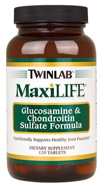 Image of MaxiLIFE Glucosamine & Chondroitin Sulfate Formula 500/400 mg