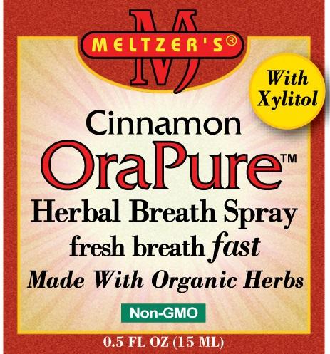 Image of OraPure Cinnamon Herbal Breath Spray .5oz