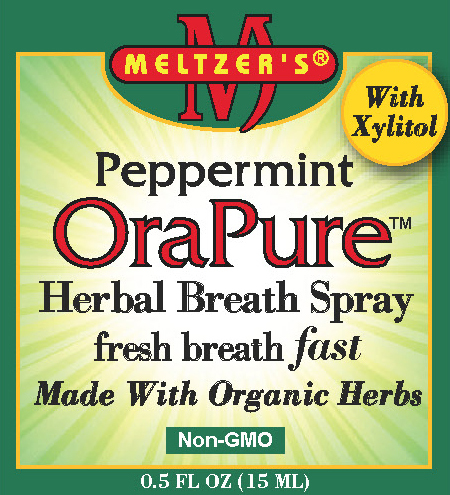 Image of OraPure Peppermint Herbal Breath Spray .5oz