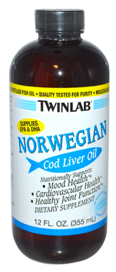 Image of Norwegian Cod Liver Oil Plain
