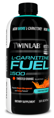 Image of L-Carnitine Fuel 1500 Liquid Twisted Orange