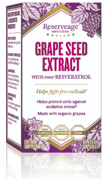 Image of Grape Seed Extract with trans Resveratrol 325/100 mg