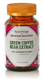 Image of Green Coffee Bean Extract with Raspberry Ketone 200/50 mg