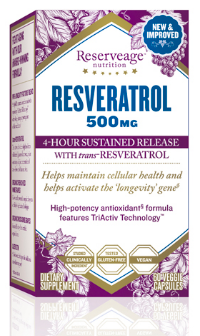 Image of Resveratrol 500 mg Sustained Release
