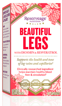Image of Beautiful Legs with Diosmin & Resveratrol