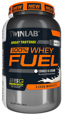 Image of 100% Whey Fuel Protein Powder Cookies & Cream