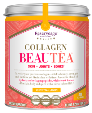 Image of Collagen Beautea White Tea + Lemon