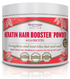 Image of Keratin Hair Booster Powder