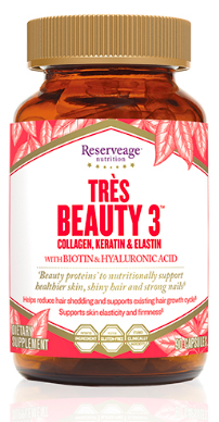 Image of Tres Beauty 3 (Collagen, Keratin & Elastin)