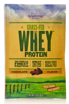 Image of Grass-Fed Whey Protein Powder Chocolate