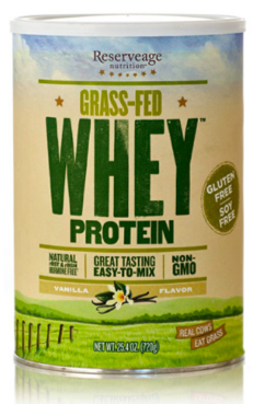 Image of Grass-Fed Whey Protein Powder Vanilla