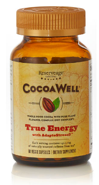 Image of CocoaWell True Energy with AdaptoStress