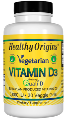 Image of Vitamin D3 5,000 IU Vegetarian