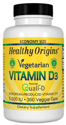 Image of Vitamin D3 5,000 IU Vegetarian