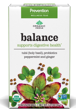 Image of Prevention Wellness Tea Balance for Digestive Health