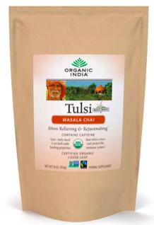 Image of Tulsi Tea Masala Chai Loose Leaf