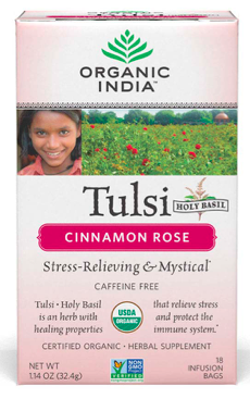 Image of Tulsi Tea Cinnamon Rose