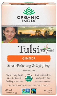 Image of Tulsi Tea Ginger