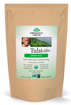 Image of Tulsi Tea Green Tea Loose Leaf
