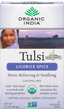Image of Tulsi Tea Licorice Spice