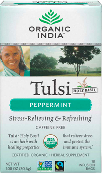Image of Tulsi Tea Peppermint