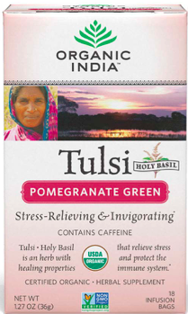 Image of Tulsi Tea Pomegranate Green