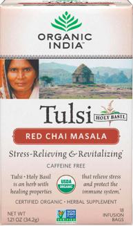 Image of Tulsi Tea Red Chai Masala