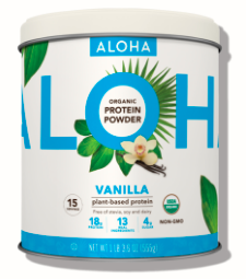 Image of Plant Based Protein Powder Organic Vanilla