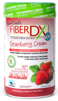 Image of Fiber DX Fiber Shake Powder Strawberry Cream