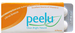 Image of Chewing Gum with Xylitol & Vitamin C Citrus Breeze